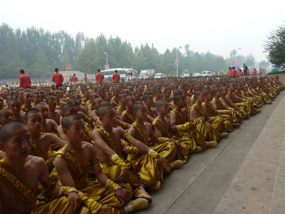 awaiting 9th International Shaolin Wushu Festival...