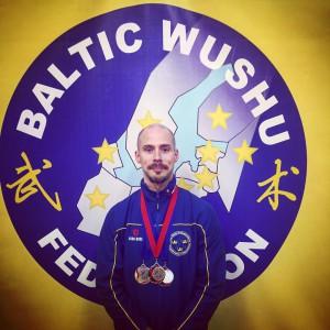 Jakob Isaksson Guld i Baltiska Öppna