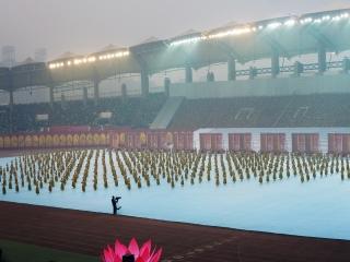 invigningen av 9th International Shaolin Wushu Festival