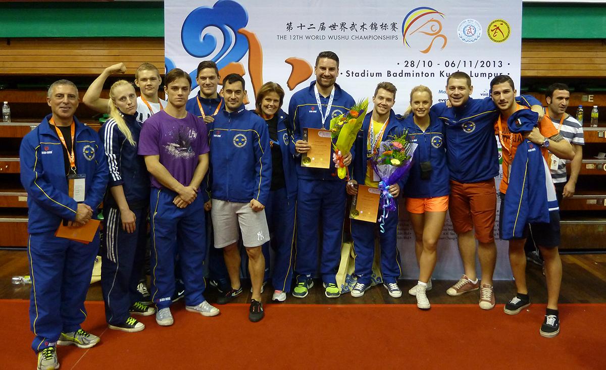 Team Sweden Wushu 2013