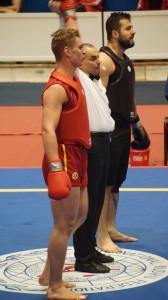 Karl Albrektsson semifinal EM 2014