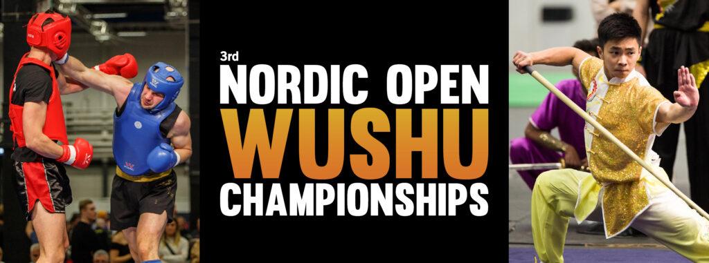 3rd Nordic Open Wushu Championships
